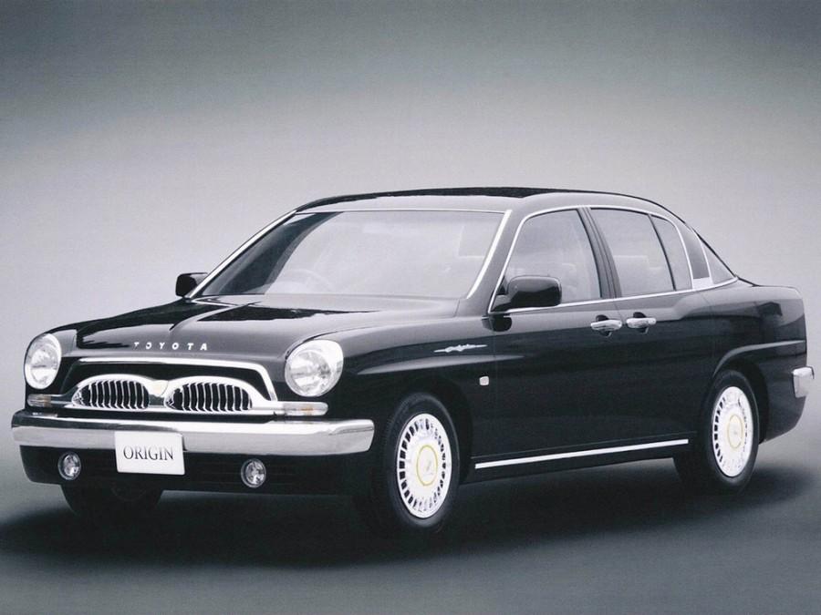 Toyota Origin седан, 2000–2001, 1 поколение - отзывы, фото и характеристики на Car.ru