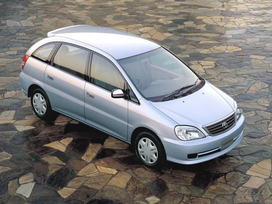 Toyota Nadia минивэн, 2001–2003, 1 поколение [рестайлинг] - отзывы, фото и характеристики на Car.ru