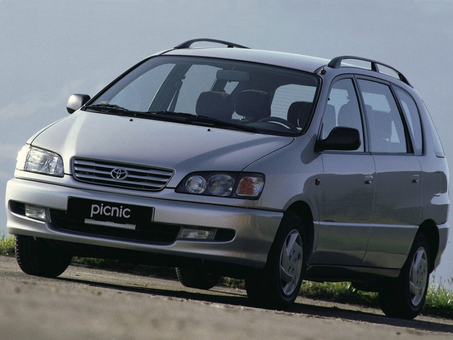 Toyota Picnic минивэн, 1996–2001, 1 поколение - отзывы, фото и характеристики на Car.ru