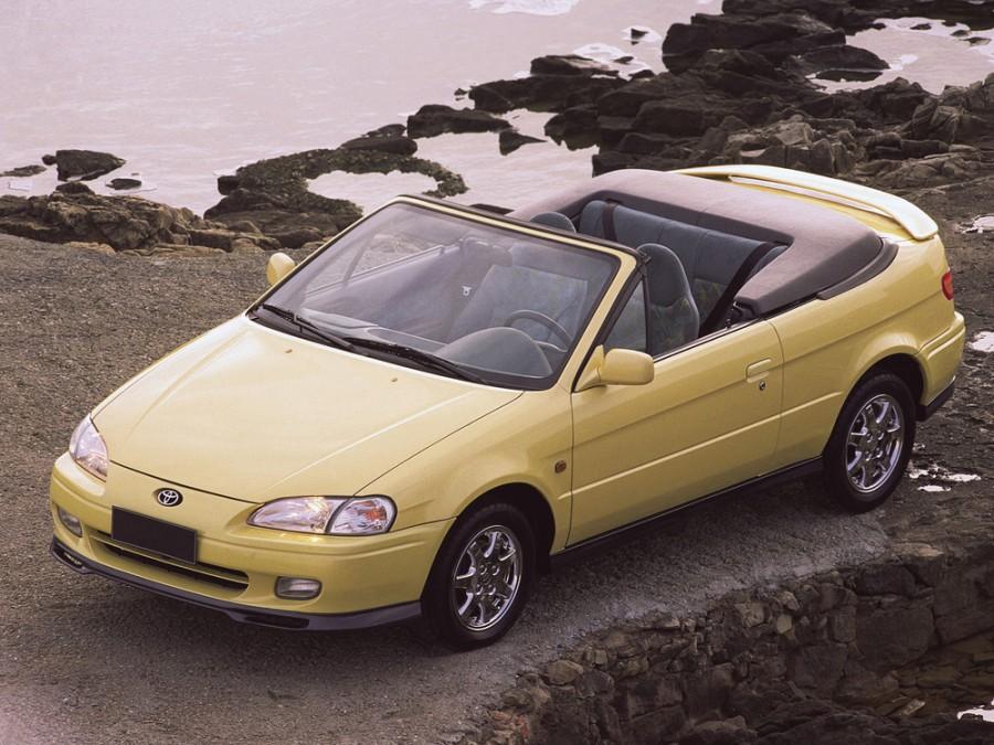 Toyota Paseo кабриолет, 1996–1999, 2 поколение - отзывы, фото и характеристики на Car.ru