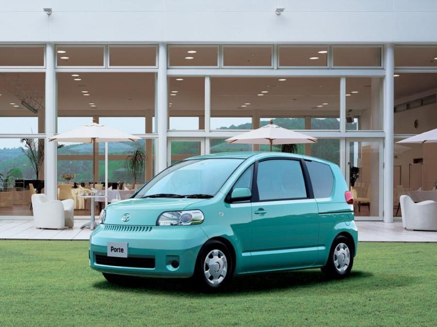 Toyota Porte минивэн, 2004–2005, 1 поколение - отзывы, фото и характеристики на Car.ru