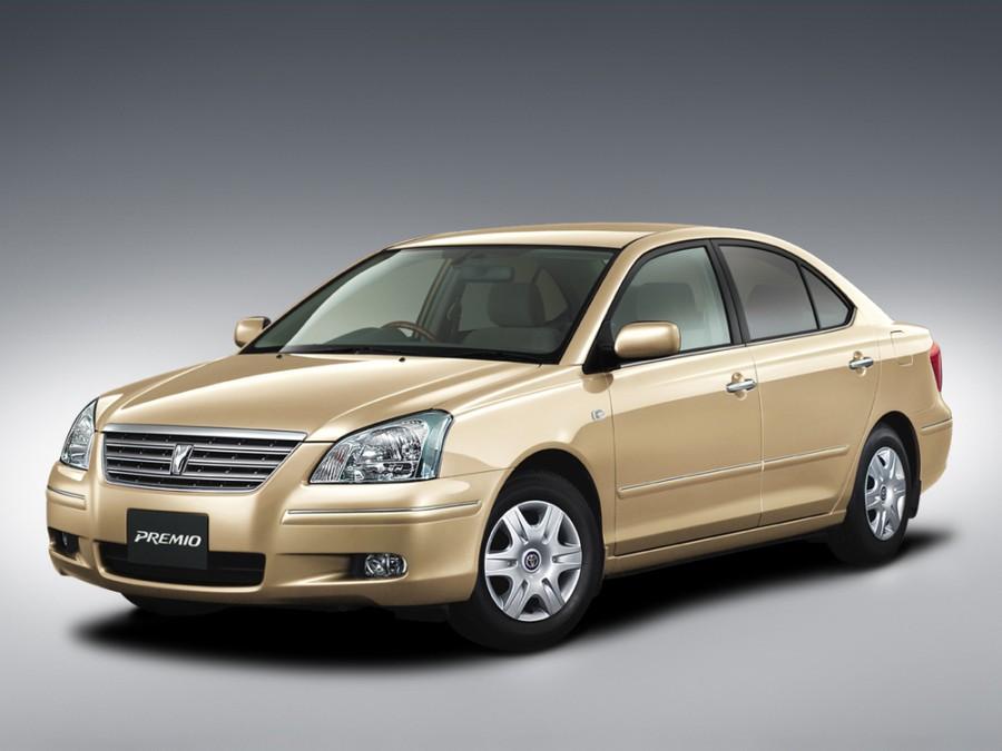 Toyota Premio седан, 1 поколение [рестайлинг] - отзывы, фото и характеристики на Car.ru