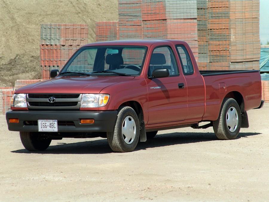 Toyota Tacoma Xtracab пикап 2-дв., 1998–2000, 1 поколение [рестайлинг] - отзывы, фото и характеристики на Car.ru