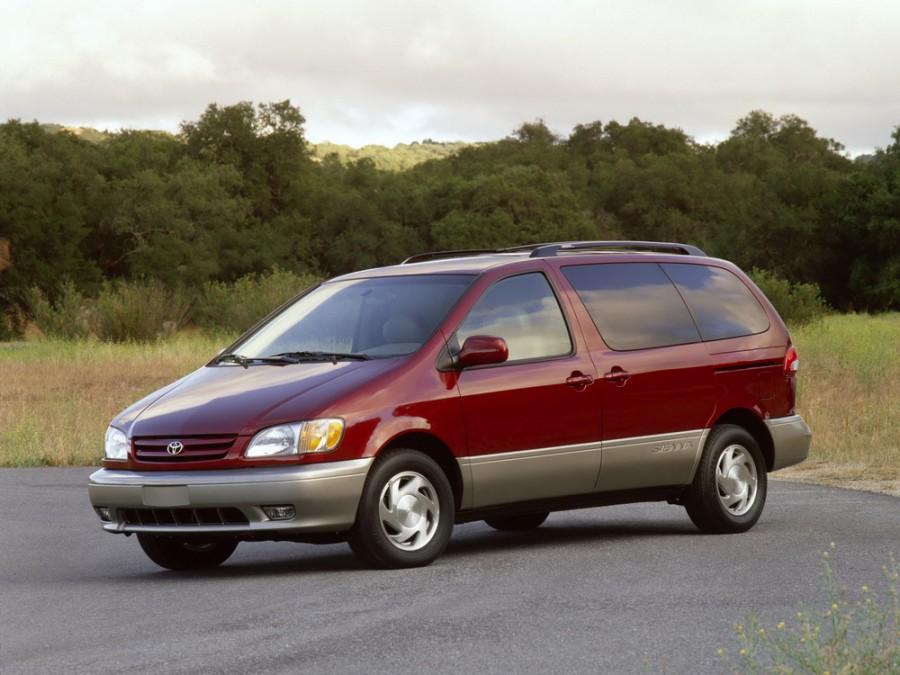 Toyota Sienna минивэн, 2001–2003, 1 поколение [рестайлинг] - отзывы, фото и характеристики на Car.ru
