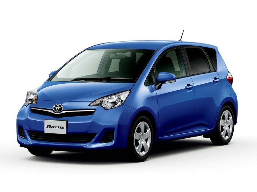 Toyota Ractis минивэн, 2010–2016, 2 поколение - отзывы, фото и характеристики на Car.ru