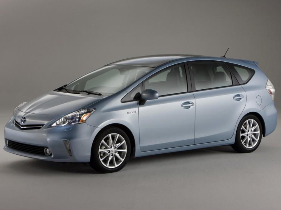 Toyota Prius V минивэн, 2012–2016, 1 поколение - отзывы, фото и характеристики на Car.ru