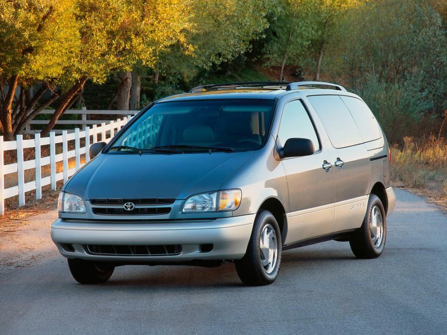 Toyota Sienna минивэн, 1997–2001, 1 поколение - отзывы, фото и характеристики на Car.ru