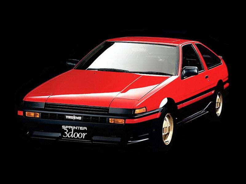 Toyota Sprinter Trueno хетчбэк, 1983–1987, AE85/AE86 - отзывы, фото и характеристики на Car.ru