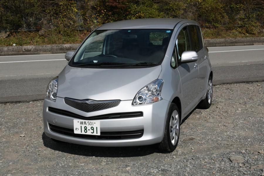 Toyota Ractis минивэн, 2007–2009, 1 поколение [рестайлинг] - отзывы, фото и характеристики на Car.ru