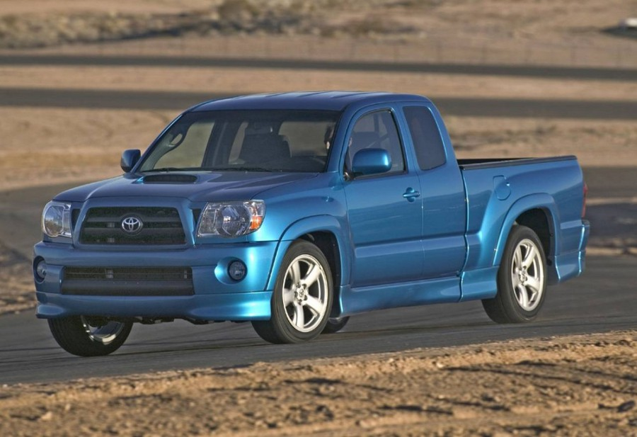 Toyota Tacoma X-Runner пикап 2-дв., 2005–2010, 2 поколение - отзывы, фото и характеристики на Car.ru