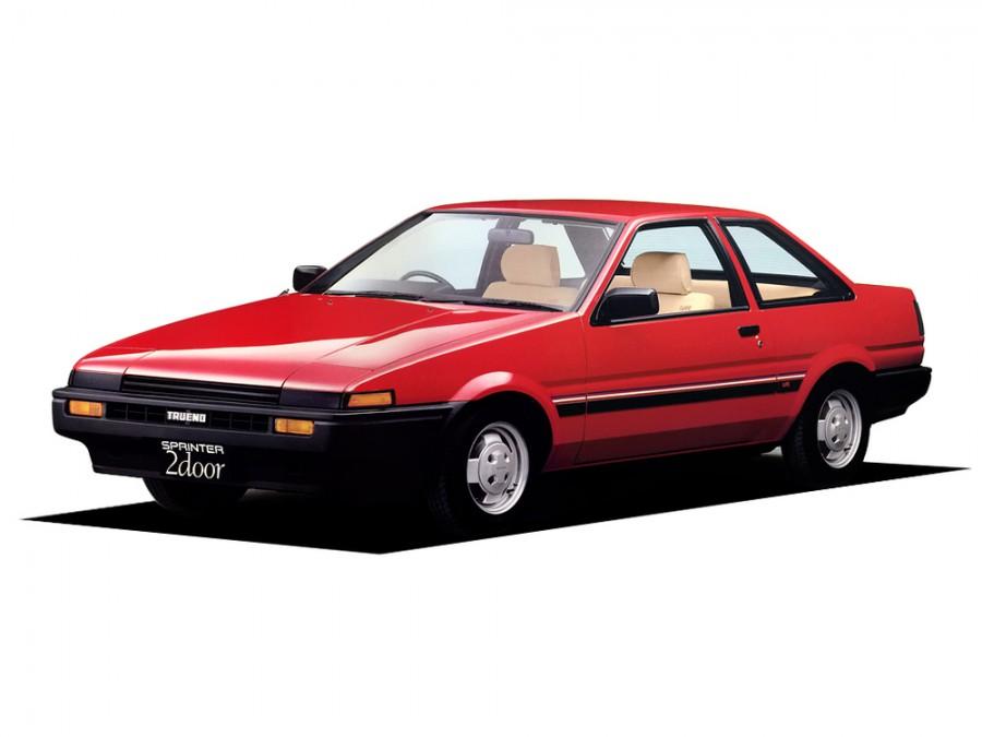 Toyota Sprinter Trueno купе, 1983–1987, AE85/AE86 - отзывы, фото и характеристики на Car.ru