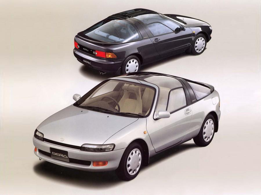 Toyota Sera купе, 1990–1995, 1 поколение - отзывы, фото и характеристики на Car.ru