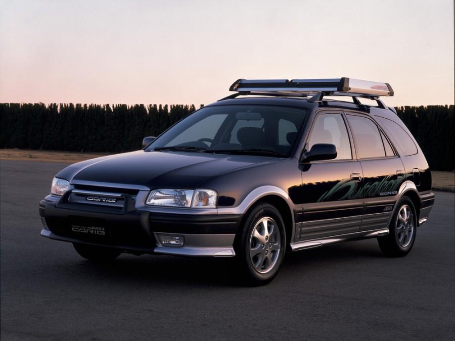 Toyota Sprinter Carib универсал, 1995–2001, 1 поколение - отзывы, фото и характеристики на Car.ru