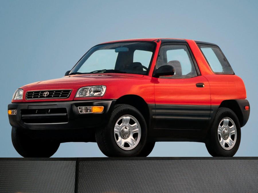 Toyota RAV4 кроссовер 3-дв., 1998–2000, 1 поколение [рестайлинг] - отзывы, фото и характеристики на Car.ru