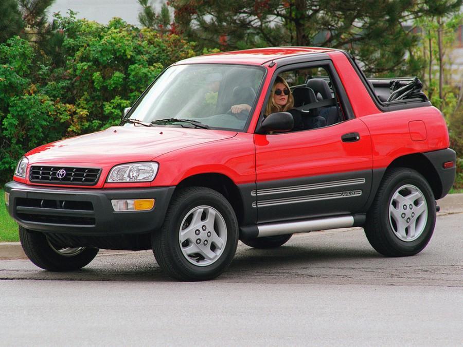 Toyota RAV4 кабриолет, 1998–2000, 1 поколение [рестайлинг] - отзывы, фото и характеристики на Car.ru
