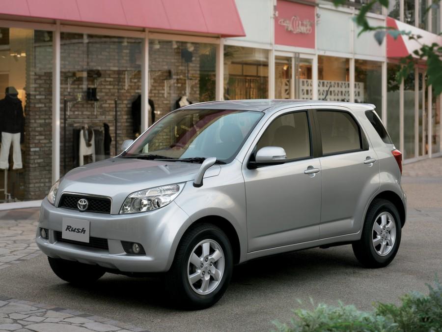 Toyota Rush кроссовер, 2006–2008, 1 поколение - отзывы, фото и характеристики на Car.ru