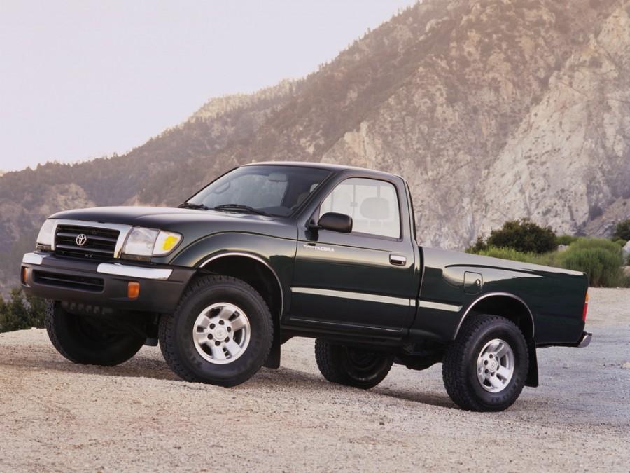 Toyota Tacoma Regular пикап 2-дв., 1998–2000, 1 поколение [рестайлинг] - отзывы, фото и характеристики на Car.ru