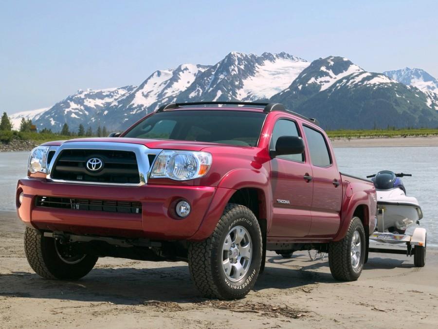 Технические характеристики Toyota Tacoma (Тойота Такома)