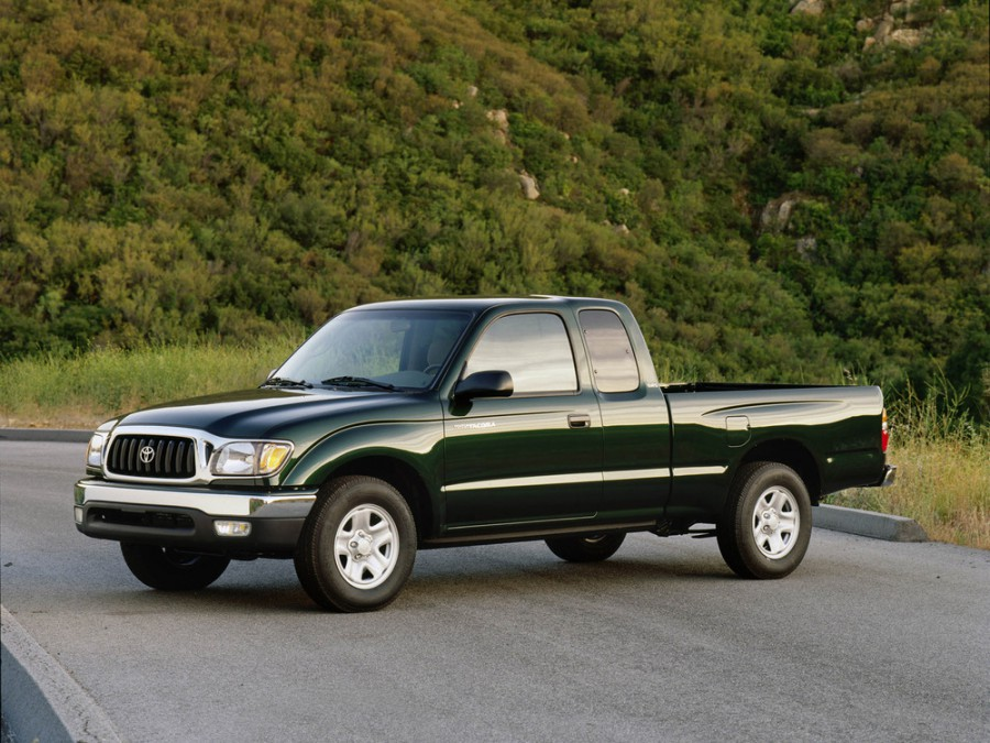Toyota Tacoma Xtracab пикап 2-дв., 2001–2004, 1 поколение [2-й рестайлинг] - отзывы, фото и характеристики на Car.ru