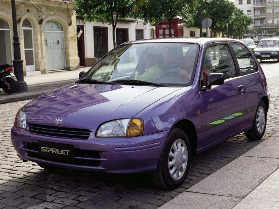 Toyota Starlet хетчбэк 3-дв., 1996–1999, 90 Series - отзывы, фото и характеристики на Car.ru
