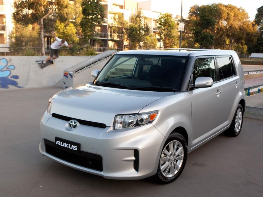 Toyota Rukus минивэн, 2011–2016, 1 поколение - отзывы, фото и характеристики на Car.ru