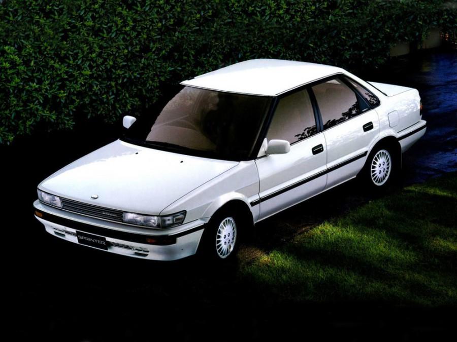 Toyota Sprinter седан, 1989–1991, E90 - отзывы, фото и характеристики на Car.ru
