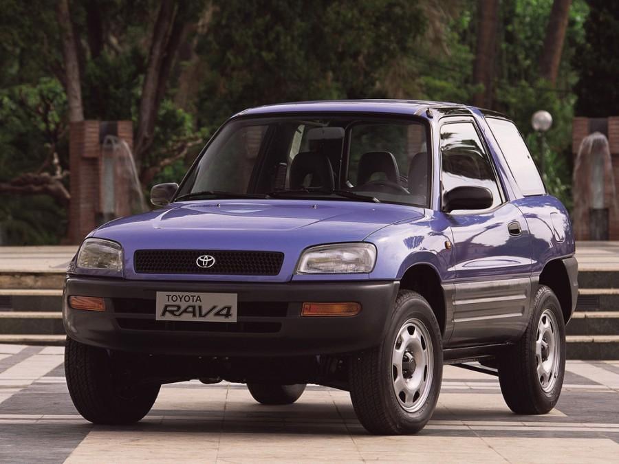 Toyota RAV4 кроссовер 3-дв., 1994–1998, 1 поколение - отзывы, фото и характеристики на Car.ru