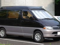 Toyota Regius, 1 поколение, Минивэн, 1998–2004
