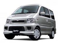 Toyota Sparky, 1 поколение, Минивэн, 2000–2002