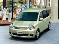 Toyota Sienta, 1 поколение [рестайлинг], Минивэн, 2006–2010