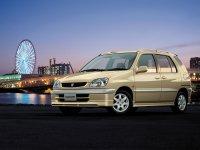 Toyota Raum, 1 поколение, Минивэн, 1997–2003