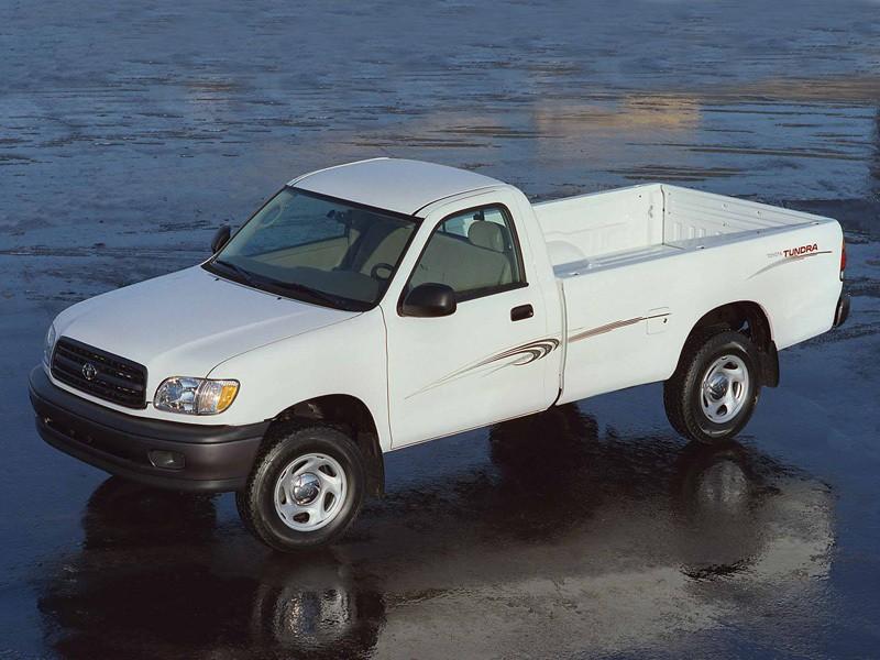 Toyota Tundra Regular Cab пикап 2-дв., 2000–2002, 1 поколение - отзывы, фото и характеристики на Car.ru