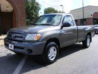 Toyota Tundra, 1 поколение [рестайлинг], Regular cab пикап 2-дв., 2003–2006