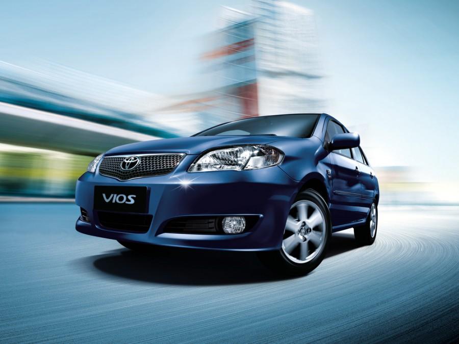 Toyota Vios седан, 2005–2016, 1 поколение [рестайлинг] - отзывы, фото и характеристики на Car.ru