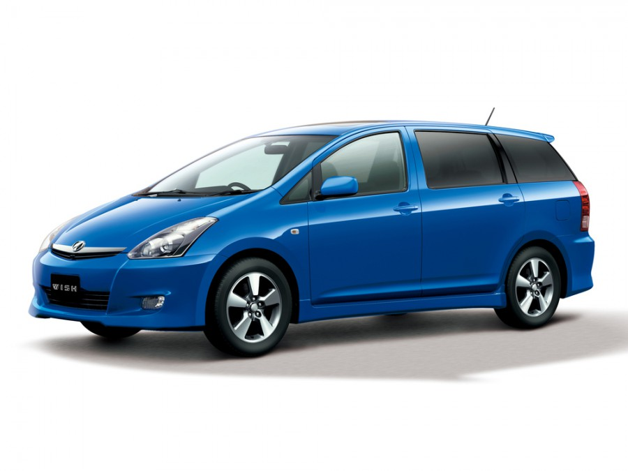 Toyota Wish минивэн, 2005–2009, 1 поколение [рестайлинг] - отзывы, фото и характеристики на Car.ru