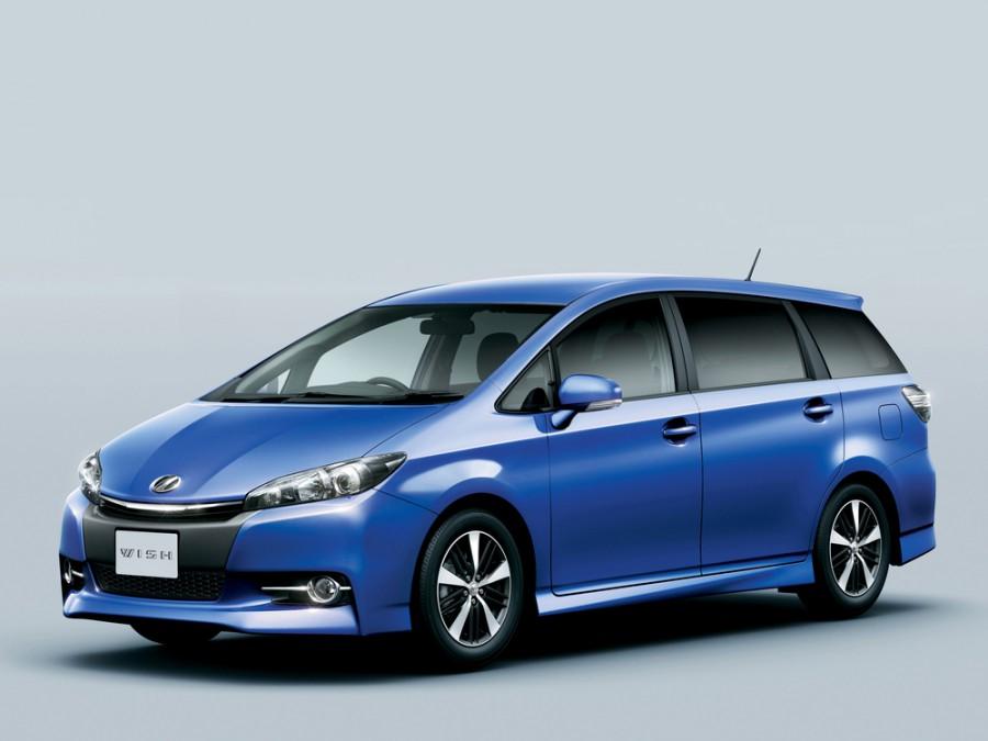 Toyota Wish минивэн, 2012–2016, 2 поколение [рестайлинг] - отзывы, фото и характеристики на Car.ru