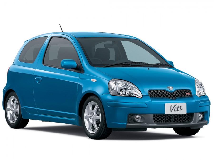 Toyota Vitz RS хетчбэк 3-дв., 2001–2005, XP10 [рестайлинг] - отзывы, фото и характеристики на Car.ru