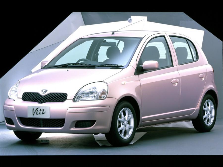 Toyota Vitz хетчбэк 5-дв., 2001–2005, XP10 [рестайлинг] - отзывы, фото и характеристики на Car.ru