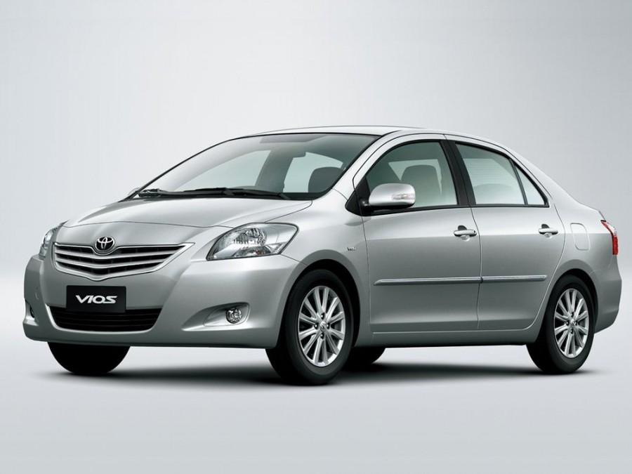 Toyota Vios седан, 2010–2016, 2 поколение [рестайлинг] - отзывы, фото и характеристики на Car.ru