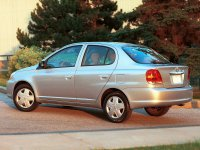 Toyota Yaris, P1 [рестайлинг], Седан, 2003–2005