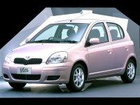 Toyota Vitz, XP10 [рестайлинг], Хетчбэк 5-дв., 2001–2005