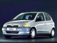 Toyota Yaris, P1, Хетчбэк 5-дв., 1999–2003