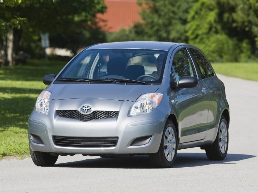Toyota Yaris хетчбэк 3-дв., 2009–2012, XP9 [рестайлинг] - отзывы, фото и характеристики на Car.ru