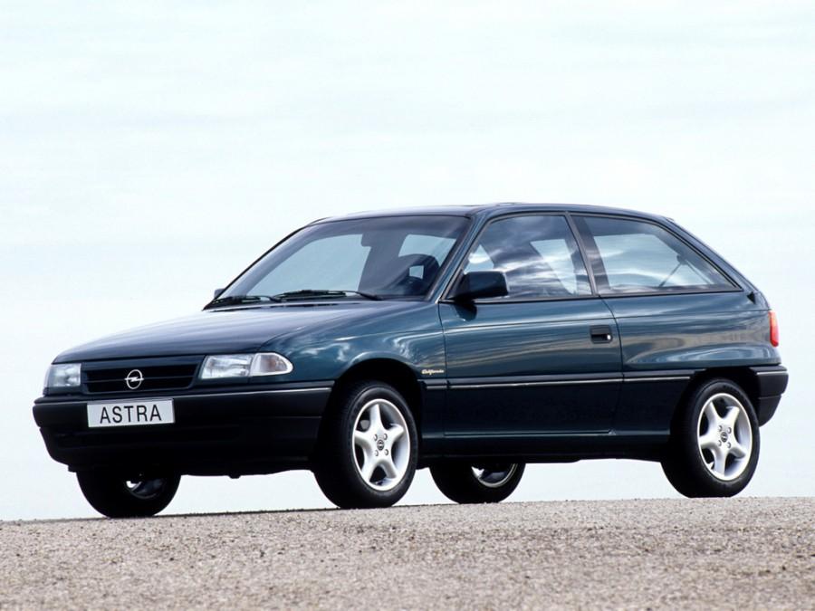 Opel Astra хетчбэк, 1991–1994, F - отзывы, фото и характеристики на Car.ru