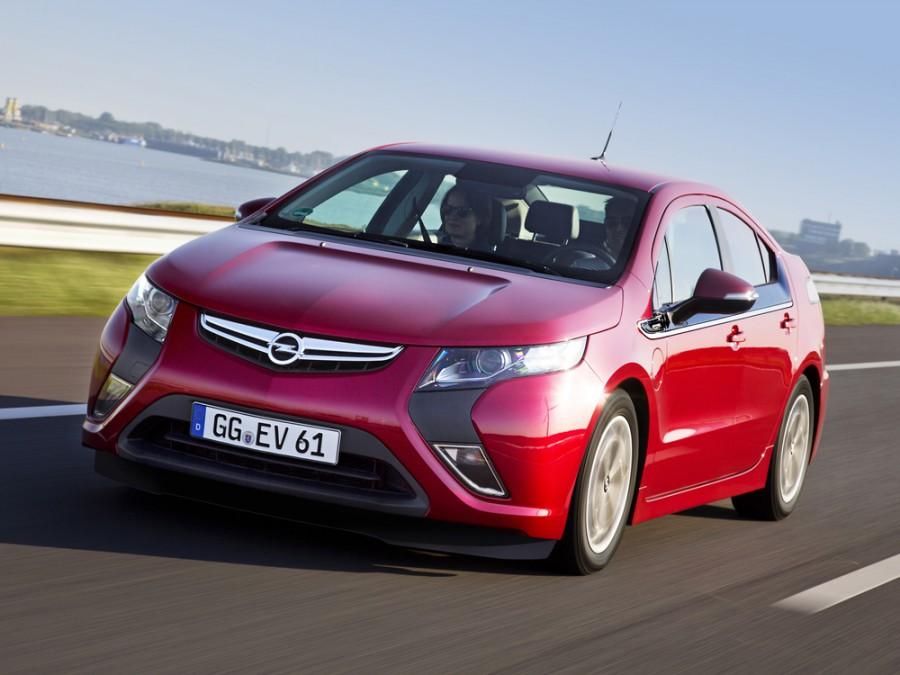 Opel Ampera хетчбэк, 2012–2016, 1 поколение - отзывы, фото и характеристики на Car.ru
