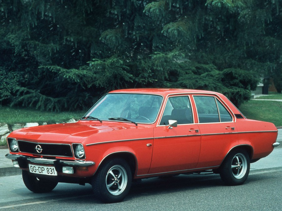 Opel Ascona седан 4-дв., 1970–1978, A - отзывы, фото и характеристики на Car.ru