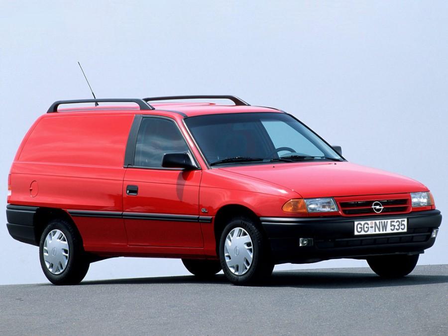Opel Astra фургон, 1991–1994, F - отзывы, фото и характеристики на Car.ru