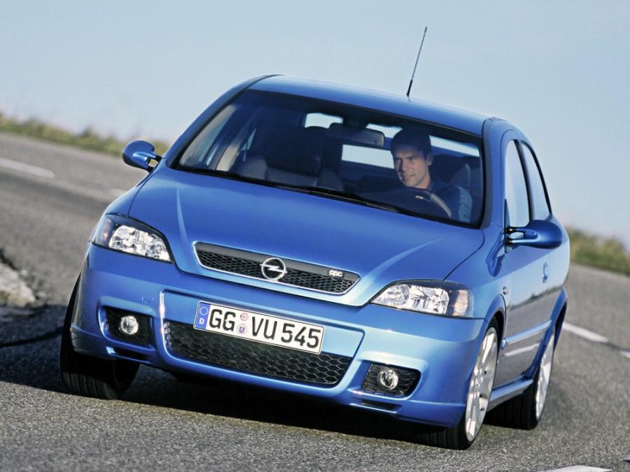 Opel Astra OPC хетчбэк 3-дв., 1998–2009, G - отзывы, фото и характеристики на Car.ru