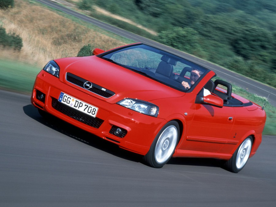 Opel Astra OPC кабриолет 2-дв., 1998–2009, G - отзывы, фото и характеристики на Car.ru