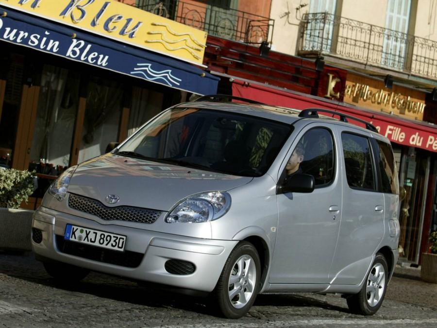Toyota Yaris Verso минивэн, 2003–2006, 1 поколение [рестайлинг] - отзывы, фото и характеристики на Car.ru